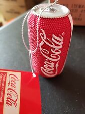 Kurt S. Adler Coca-Cola Can Christmas Ornament 3 inch