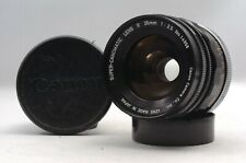 @ Ship in 24 Hrs @ Excellent! @ Canon Super-Canomatic R 35mm f2.5 Canonflex Lens