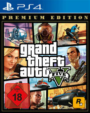 GTA 5 Grand Theft Auto V Premium Edition (PS4) (NEU OVP) (UNCUT) (Blitzversand)