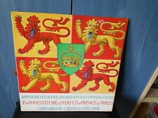 LP Record-Investiture of HRH The Prince of Wales Caernarvon 1st July 1969