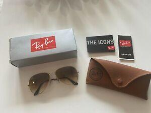 Ray Ban Sonnenbrille Gold - Pilotenbrille - Gebraucht aber guter Zustand
