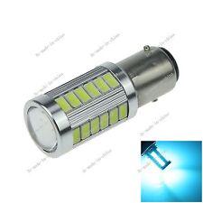 1X Ice Blue Car 1157 BAY15D 33 5730 LED Brake Turn Signal Rear Light Bulb E060