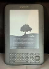 Amazon Kindle Keyboard (3rd Generation) 4GB, Wi-Fi + 3G (Unlocked), 6in - Black