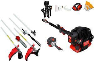 5 in 1 Multi Garden tool hedge trimmer strimmer Brushcutter,52cc 1 yr waranty