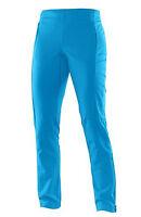 Damenhose Sporthose Fitnesshose Salomon Momentum Softshell Pant W, methyl blue