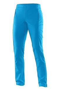 Women's Trousers Sports Fitness Pants Salomon Momentum Softshell W, Methyl Blue