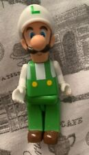 2011 Super Mario Bros. K'NEX Figure Green Luigi Nintendo Lego RARE WoW Collector
