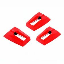 3 pcs Turntable Stylus Needle for Phonograph Gramophone Record New
