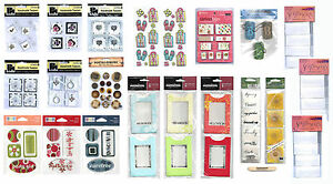 Various Embellishments for Cards/Scrapbooking ALL 99p - Cards/Scrapbooking