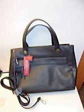 Women s Satchel Handbag Black With Detachable Crossbody Strap Merona 680e1c07ee930