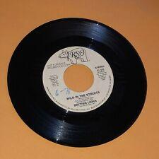 "British Lions Wild In The Streets 45 rpm Promo Record 1978 Ex Vinyl 7"" Glam Rock"