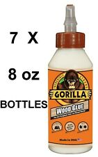 New listing Gorilla Wood Glue 8 oz X 7 bottles
