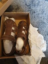 Mens leather sandals size 8