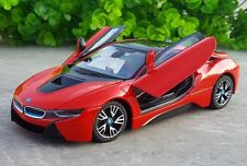 Rastar 1:24 BMW i8 Concept Car Roadster diecast metal model new in box red