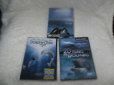 DOLPHIN TALE + 20 YEARS WITH DOLPHINS + THE BLUE PLANET DVD ALL NEW & SEALED
