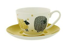 Ulster Weavers Dotty Sheep Porcelain Tea Cup with Saucer