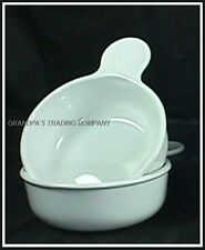 2 Corning Ware Pyrex Grab It Bowls 15 oz Refrigerator to Table White Grab-It