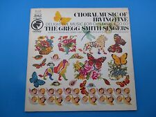 Choral Music Of Irving Fine Album LP Vinyl Gregg Smith Singers Beegle 32 16 0272
