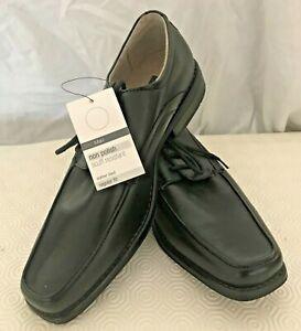 M&S Man Shoes Non Polish Scuff Resistant. Black Lace-up shoes. Style No:T03/9050