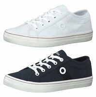 s.Oliver Canvas Sneaker Dunkel Blau Slipper Schuhe 24635-805