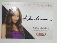 2013 Cryptozoic Autograph Sign Ashley Madekwe REVENGE ABC Tv Series Season 1