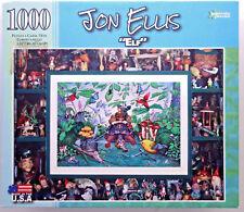 jigsaw puzzle 1000 pc Jon Ellis Elf gnomes papercity puzzles