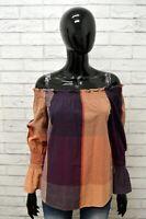 Maglia MARLBORO CLASSICS Taglia Size XS Donna Woman Maglietta Shirt Polo Cotone