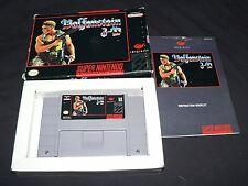 Wolfenstein 3d (Super Nintendo Entertainment System, 1994) CIB complete! *nice*