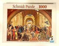 Schmidt 100 Years Film Famous Stars Film Set 1000 Piece Jigsaw Puzzle COMPLETE
