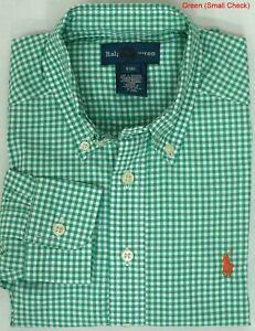 Boys Ralph Lauren Long Sleeve Check Shirt