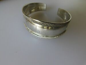 925 Sterling Silver Personalized 'ANDREA' Cuff Bracelet - 15 grams, $4 shipping