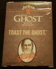 Jim Beam Ghost White Whiskey - Deck of Playing Cards - Sealed Pack...NEW