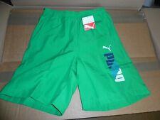 PUMA Herren Sporthose Bermuda Shorts Webhose Essential Woven Shorts grün Gr: S
