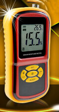 Usa Stock Grain Moisture Tester For Measure Moisture Content Of Food Brand New