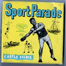 VINTAGE SILENT 8MM CASTLE FILM SPORT PARADE NO. 394 BREAKNET SPORTS