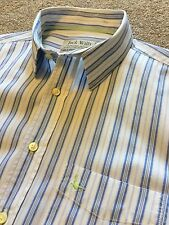 GORGEOUS JACK WILLS BLUE STRIPE WEEKEND SHIRT L LARGE