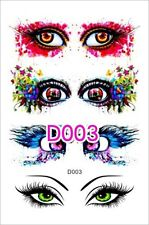 3D EYES TEMPORARY TATTOO RETRO FUNK EYE TATTOO RETRO TATTOO HENNA TATTOO CREEPY
