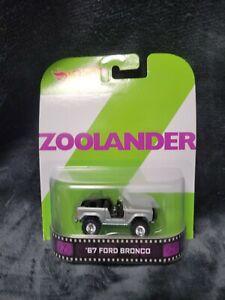 Hot Wheels Zoolander 1967 Ford Bronco