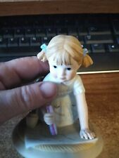 Lenox Saturday's Child Porcelain Figurine Days of the Week Collection