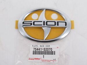 Genuine OEM Toyota Scion 75441-52070 Rear Emblem Badge 2004-2006 xB