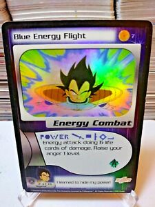 DBZ CCG DRAGON BALL Z SUPER- BLUE ENERGY FLIGHT #7 - FOIL FRIEZA SAGA SCORE 2000