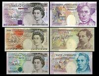 Gran Bretaña - 2x 5, 10, 20 Pounds - Edición 1990 - 1992 - Reproducción 01