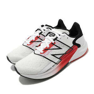 New Balance Fuelcell Propel V2 Wide White Red Women Running Shoes WFCPRWR2 D