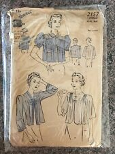 New ListingVintage Sewing Pattern 1930s Bed Jacket sz Large, Sleepwear Advance 2157