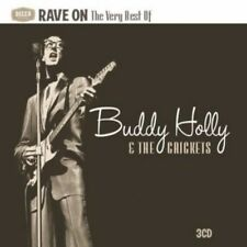 Rave On: The Very Best Of - 3 DISC SET - Buddy & The Crickets Ho (2010, CD NEUF)