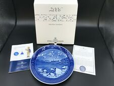 "Royal Copenhagen 2006 Collectors Plate ""Kronborg Castle� New In Box With Coa"