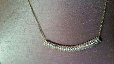 ♡♡♡ Oroton 10k Gold Plated Mon Petit Rhodium Choker Necklace Collar