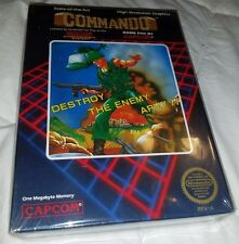 Commando Nintendo NES Mint sealed New Awesome
