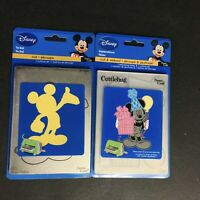 Artículos de artesanía de Disney Carpeta de grabación en relieve /& DIE Cutter Mickey Mouse