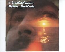CD DAVID CROSBY	if i could only remember my name	GERMANY EX ( B2443)